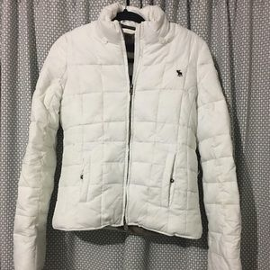 Abercrombie down and Faux fur jacket